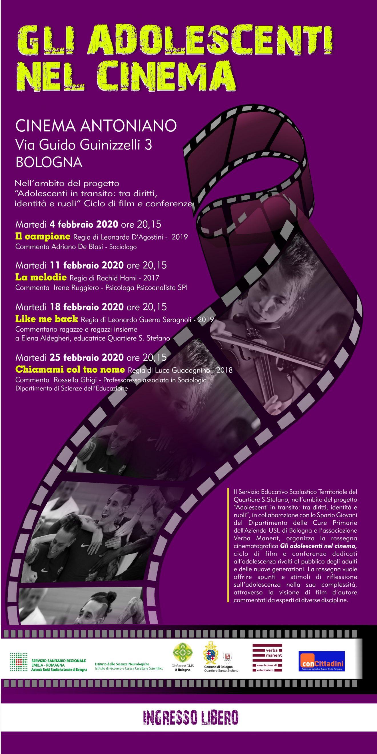 Torna la rassegna bolognese Adolescenti nel cinema!
